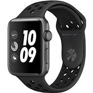 Apple Watch Series 3 Nike+ 42mm GPS Vesmírně šedý hliník s antracitovým sportovním řemínkem Nike