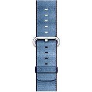 Apple 38mm Navy modrý/ azurový z tkaného nylonu