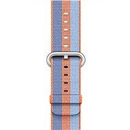 Apple 38mm Oranžový z tkaného nylonu