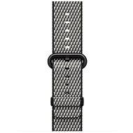 Apple 38mm Černý z tkaného nylonu (prošívání)