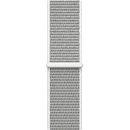 Apple 38mm Mušlově bílý provlékací sportovní
