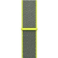 Apple 38mm Zářivě žlutý provlékací sportovní