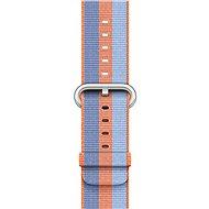 Apple 42mm Oranžový z tkaného nylonu
