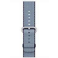 Apple 42mm Půlnočně modrý z tkaného nylonu (prošívání)