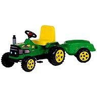 Šlapací traktor Farmer s vozíkem
