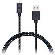 CONNECT IT Wirez Premium Micro USB 1m černý