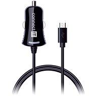 CONNECT IT InCarz Charger s micro USB kabelem 1.5 metru, černá