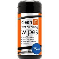 CLEAN IT čistící ubrousky mokré na LCD/TFT 75ks