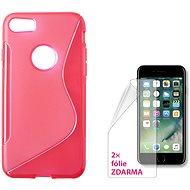CONNECT IT S-Cover iPhone 7 červené