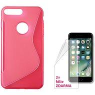 CONNECT IT S-Cover iPhone 7 Plus a iPhone 8 Plus červené
