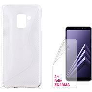 CONNECT IT S-COVER pro Samsung Galaxy A8 (2018, A530F) čiré