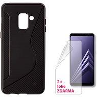 CONNECT IT S-COVER pro Samsung Galaxy A8 (2018, A530F) černé