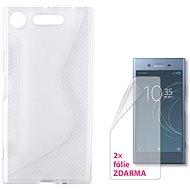CONNECT IT S-COVER pro Sony Xperia XZ1 čiré