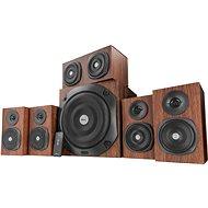 Trust Vigor 5.1 Surround Speaker System brown