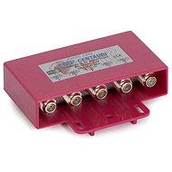 přepínač Diseqc ze 4 konvertorů, venkovní provedení, F konektory