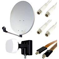 Set pro TV se satelitním tunerem - 2 družice, 1 přijímač
