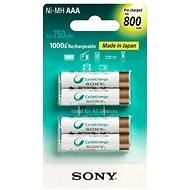 Sony NiMH 800mAh, AAA, 4ks