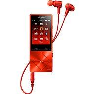 Sony Hi-Res WALKMAN NW-A25HNR červený