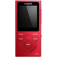 Sony WALKMAN NWE-394R červený