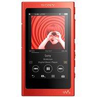 Sony Hi-Res WALKMAN NW-A35 červený