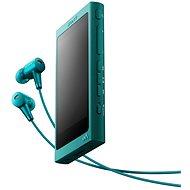 Sony Hi-Res WALKMAN NW-A35 modrý + sluchátka MDR-EX750