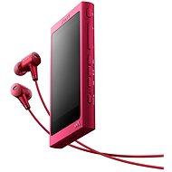 Sony Hi-Res WALKMAN NW-A35 růžový + sluchátka MDR-EX750