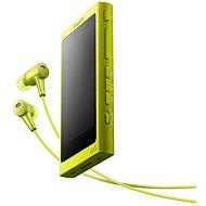 Sony Hi-Res WALKMAN NW-A35 žlutý + sluchátka MDR-EX750