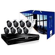 KGUARD 16-kanálový rekordér DVR + 8x barevná venkovní kamera
