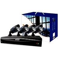 KGUARD 8-kanálový rekordér DVR + 4x barevná venkovní kamera