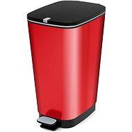 KIS Koš na odpad Chic Bin L - Metal Red 50l
