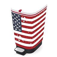 KIS Koš na odpad Chic Bin M - American Flag 35l