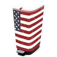 KIS Koš na odpad Chic Bin L American Flag 50l