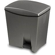 KIS Odpadkový koš Duetto 10l+ 20l šedý