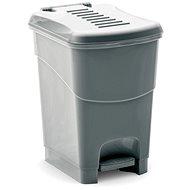 KIS Koš na odpad Koral Bin S- šedý 10l