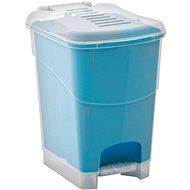 KIS Koš na odpad Koral Bin L, průhledný / modrý 20l