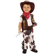 Šaty na karneval - Kovboj vel. XS