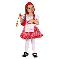 Šaty na karneval - Červená Karkulka vel. XS