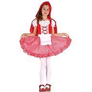 Šaty na karneval - Červená karkulka vel. S