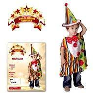 Šaty na karneval - Malý klaun vel. XS