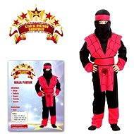 Šaty na karneval - Ninja pavouk vel. S