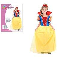 Šaty na karneval - Sněhurka vel. M