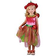 Šaty na karneval - Jahodová víla vel.XS