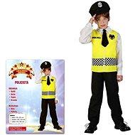 Šaty na karneval - Policie vel. M