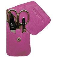 Pfeilring Original Solingen Luxusní cestovní manikúrová sada 11187 Růžová