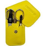 Pfeilring Original Solingen Luxusní cestovní manikúrová sada 11185 Žlutá
