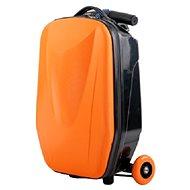 Luggage on the wheels ORANGE