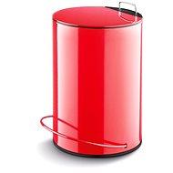Lamart Odpadkový koš 5l červený Dust LT8006