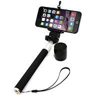 Xlayer Selfie-Stick + Bluetooth Speaker černý
