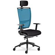 LD Seating Lyra Net modro/černá