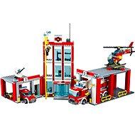 LEGO City 60110 Hasiči, Hasičská stanice